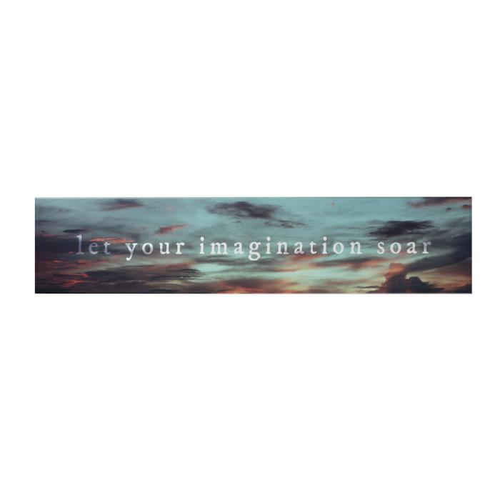 Let Your Imagination Long Decoposter