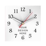 Personalized Square Clock