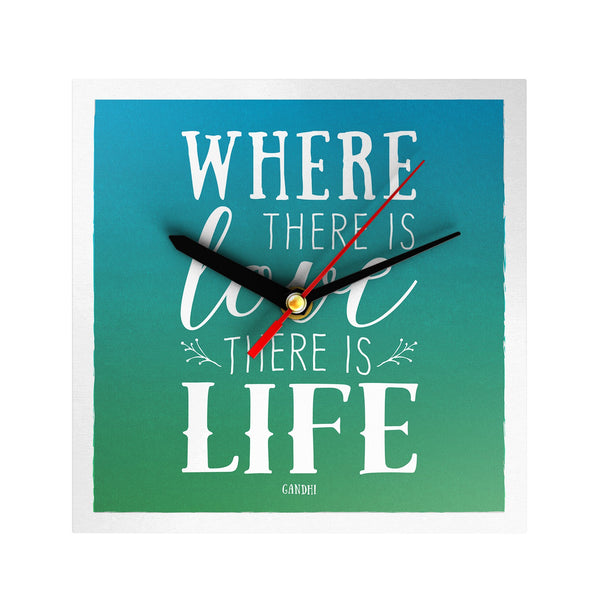 Where There is Love Clock