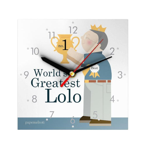 World's Greatest Lolo Clock