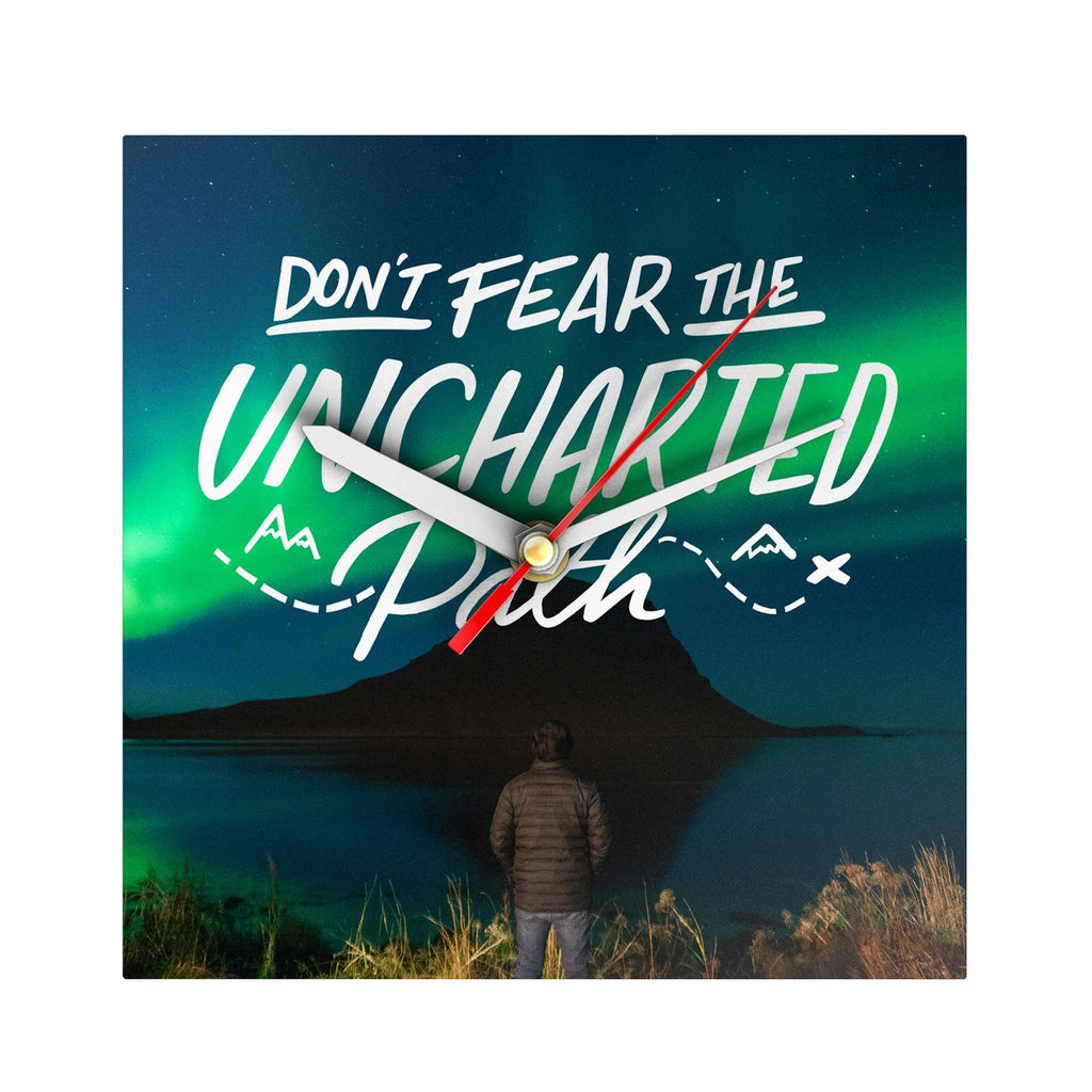 Grand Adventure Clock: Don't Fear the Uncharted Path