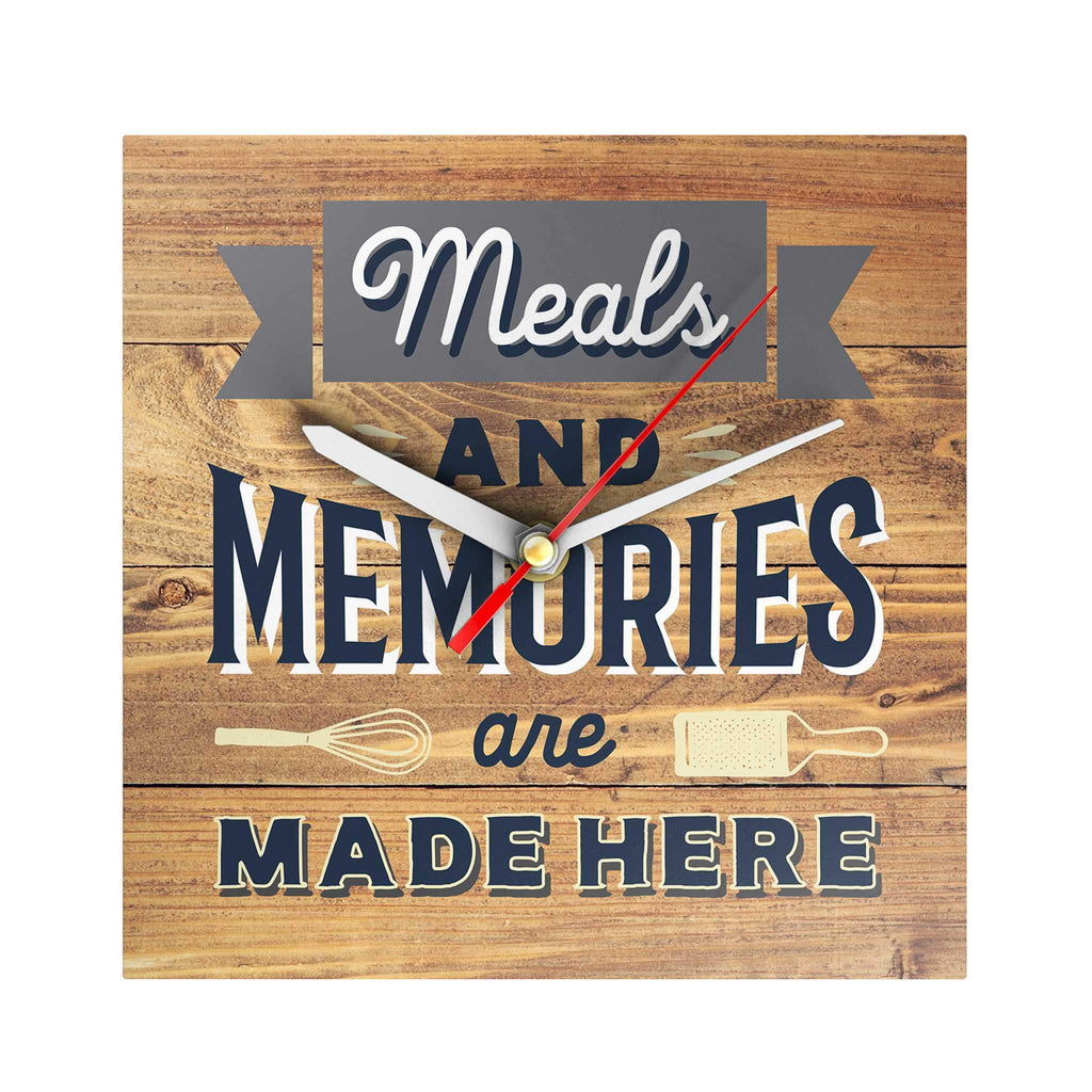 Happy Home Clock: Meals and Memories
