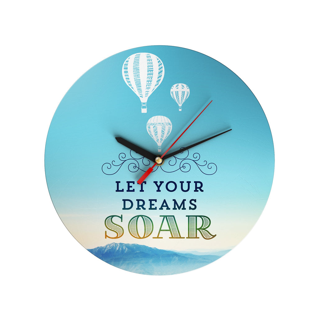 Let Your Dream Soar Clock