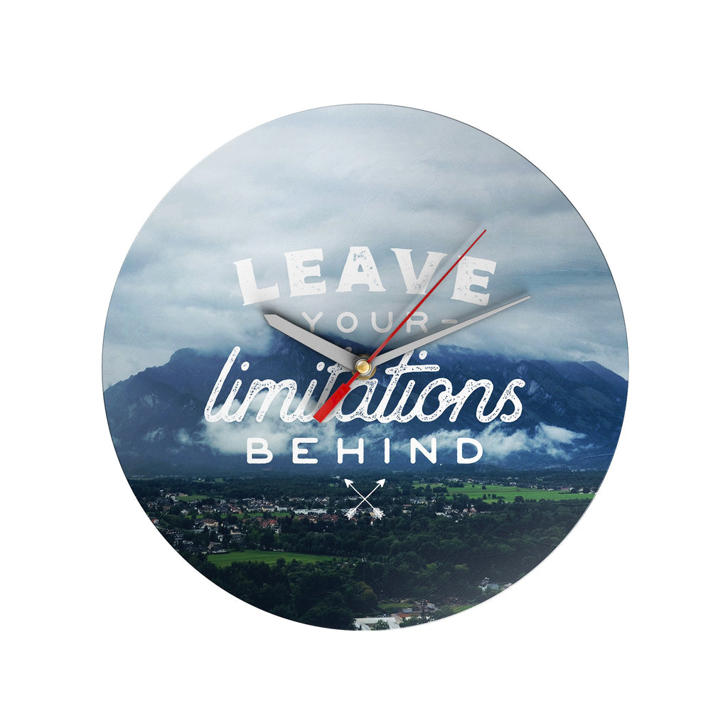 Leave Your Limitations Clock