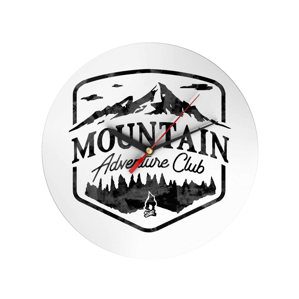 Mountain Adventure Clock