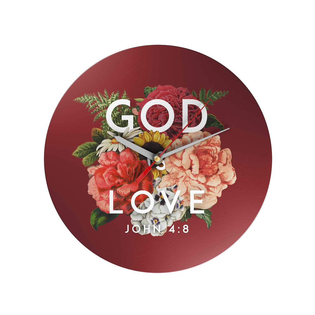 God Is Love Clock