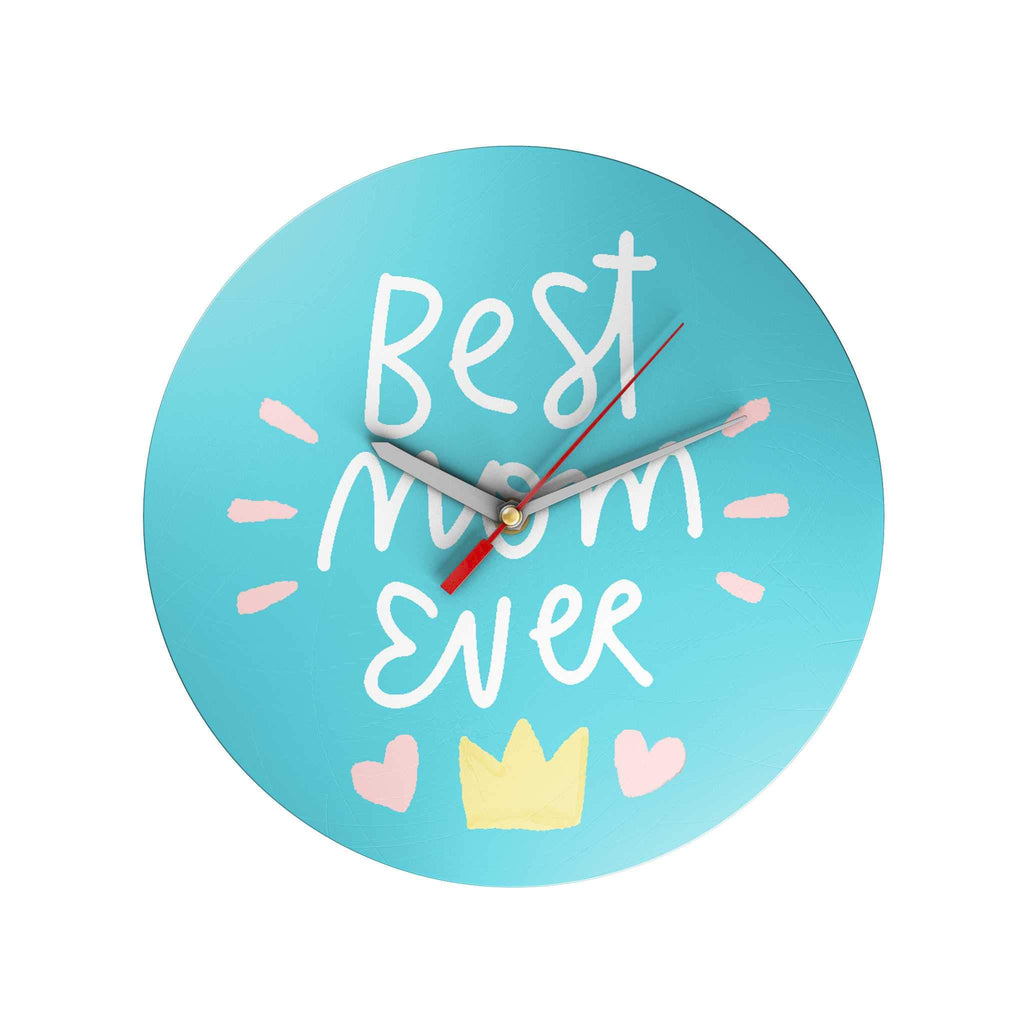 Best Mom Ever Clock