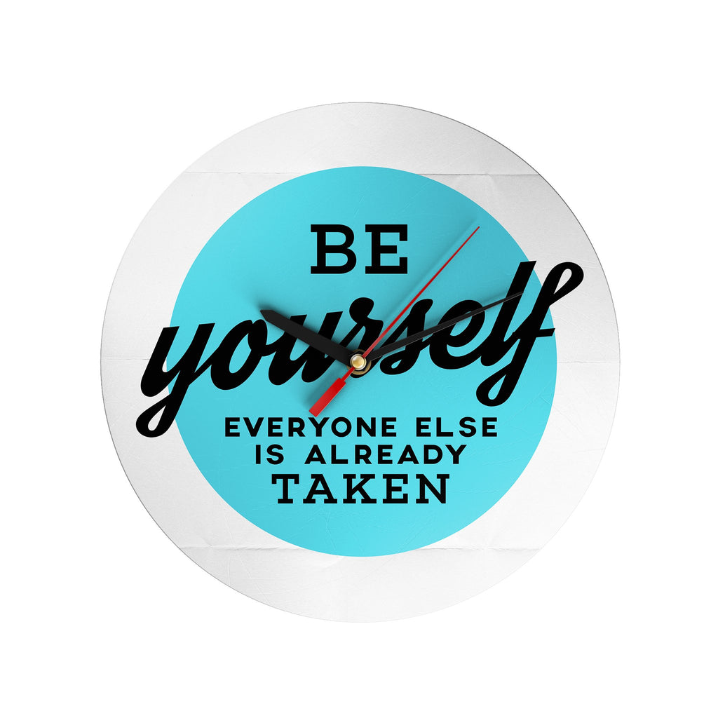 Be Yourself Clock