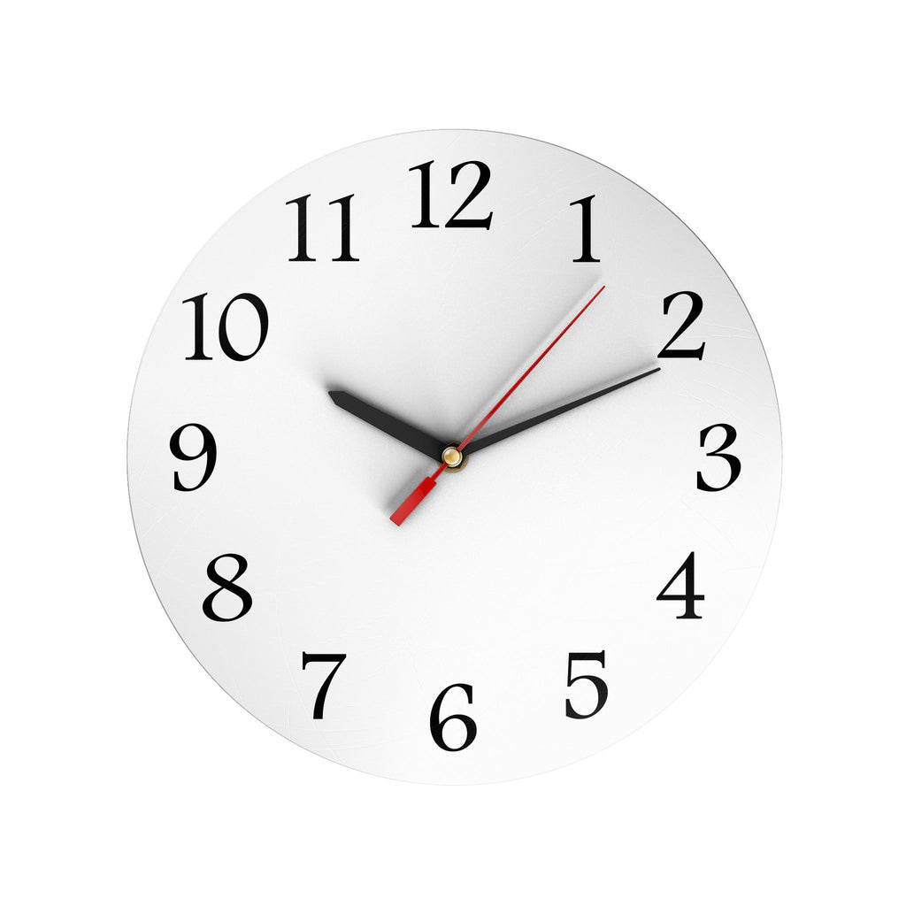 Personalized Round Clock