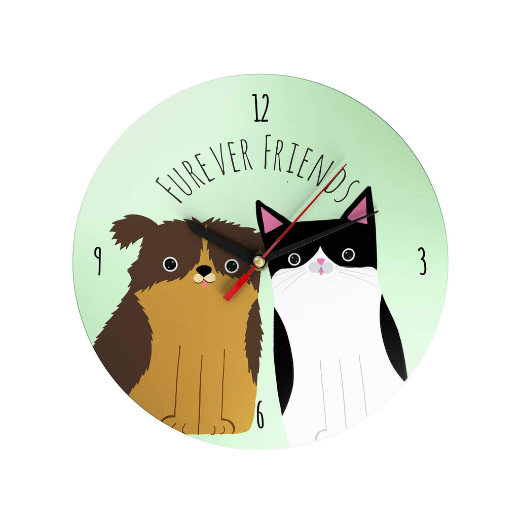 Pawsome: Furever Friends Clock