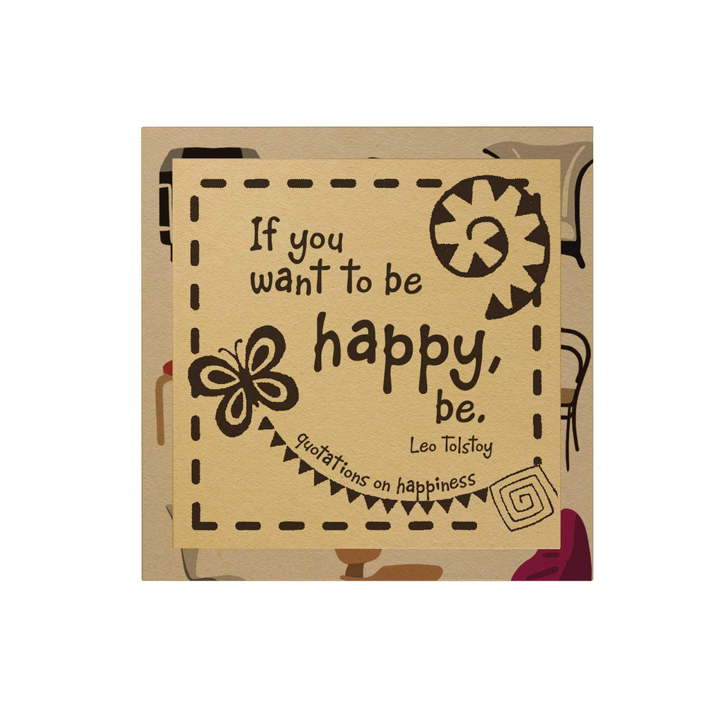 If You Want to Be Happy Paper Pack