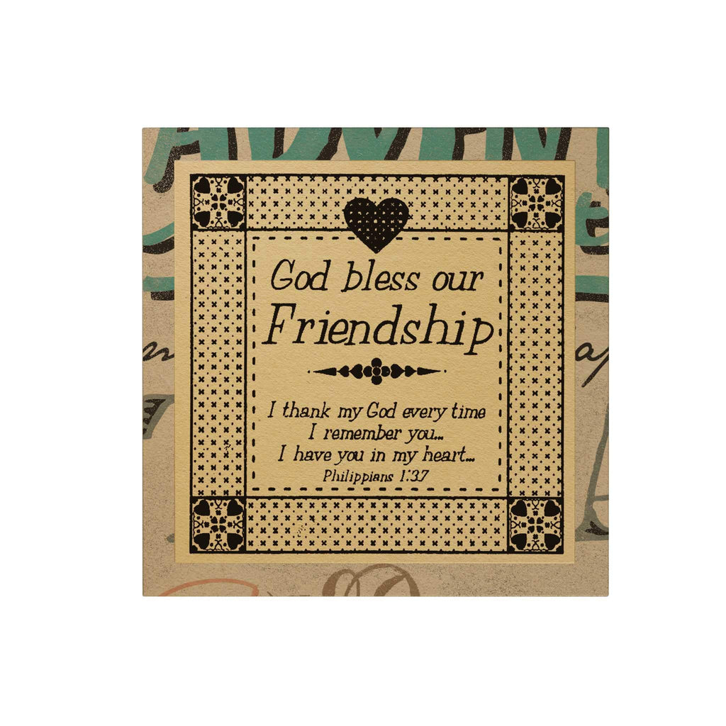 God Bless Our Friendship Paper Pack