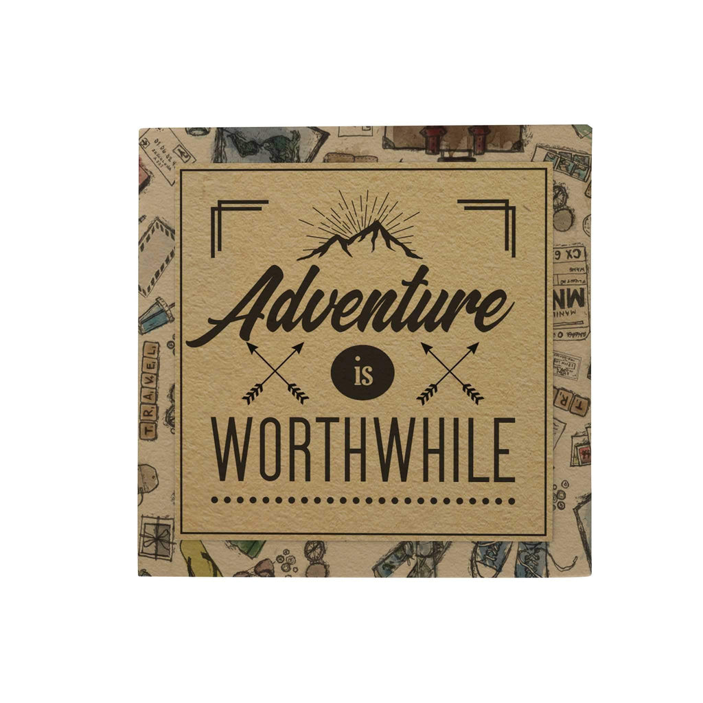 Adventure Is Worthwhile Paper Pack