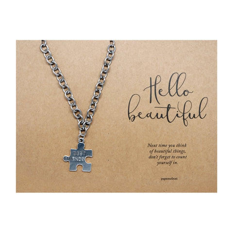 Puzzle Best Friends Bracelet Jewelry Gift Card