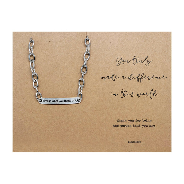 Time Bracelet Jewelry Gift Card