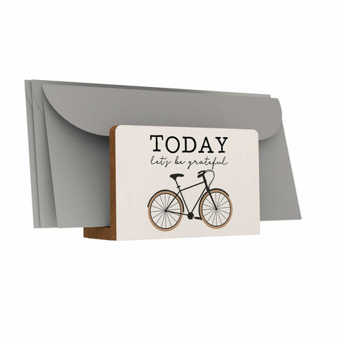 Everyday Things Letter Holder: Today Let's Be Grateful