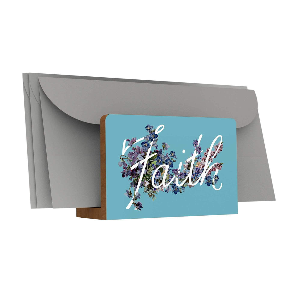 God's Garden: Faith Letter Holder