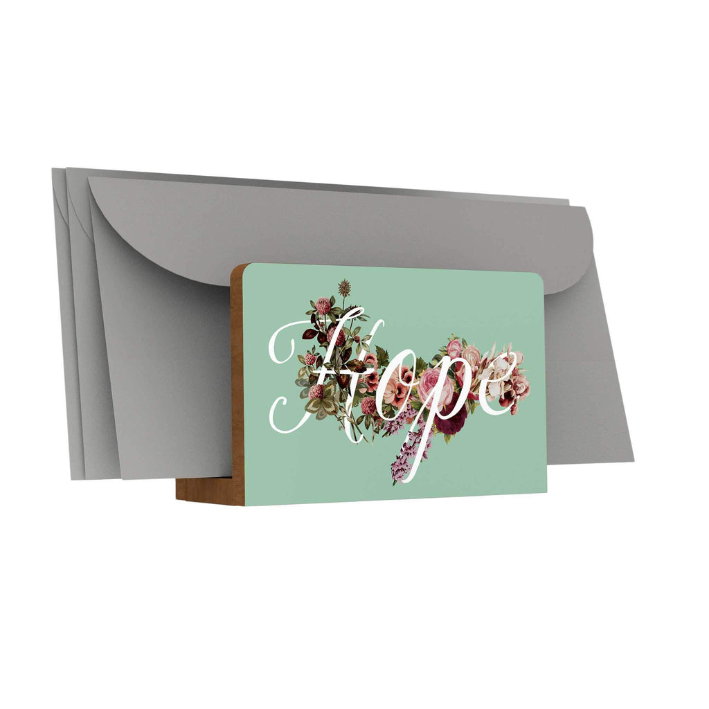 God's Garden: Hope Letter Holder