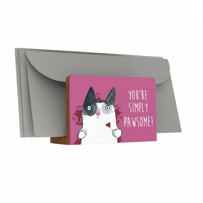 You're Simply Pawsome Letter Holder