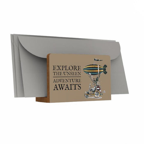 Explore the Unseen Letter Holder