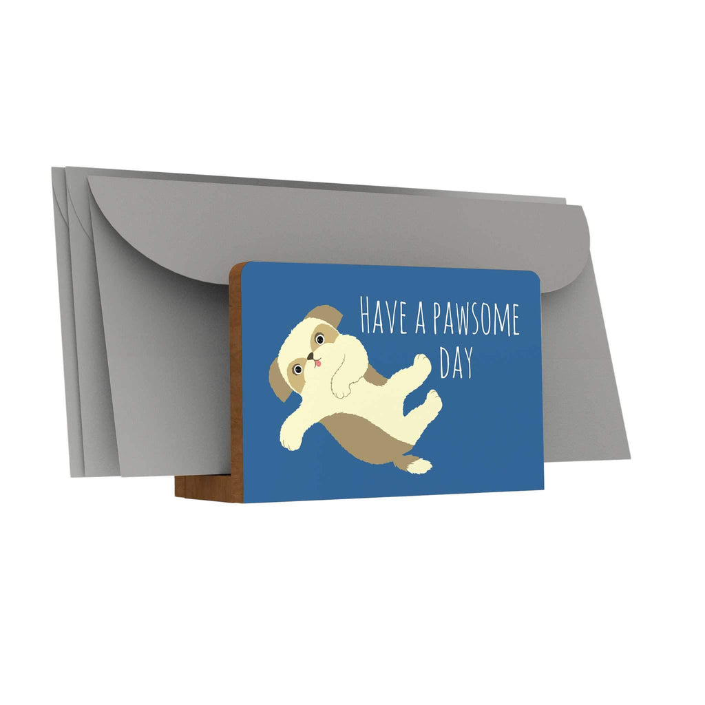 Pawsome: Have a Pawsome Day Letter Holder