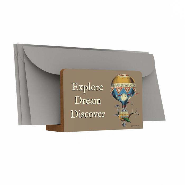 Explore Dream Discover Letter Holder