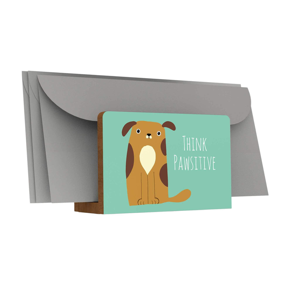 Pawsome: Think Pawsitive Letter Holder