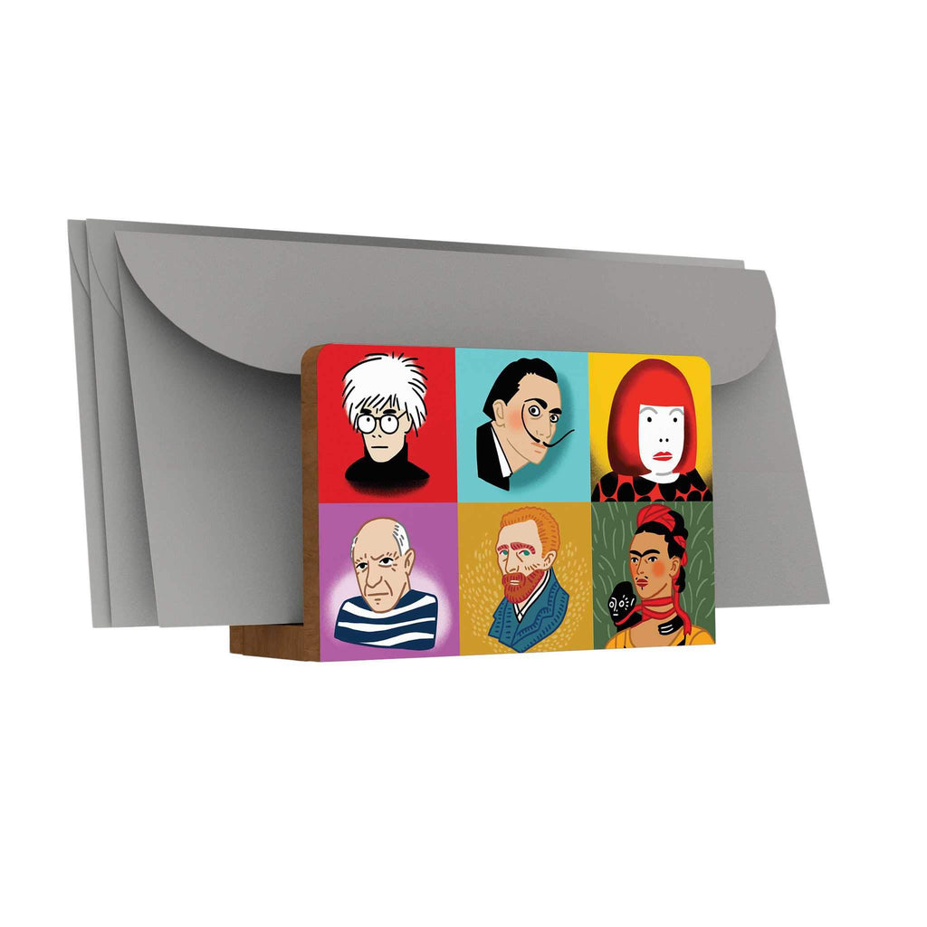 Iconic Artists Letter Holder