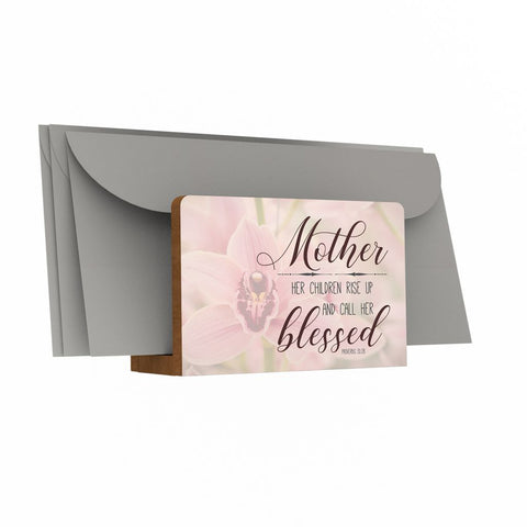 Mother - Her Children Rise Up Letter Holder