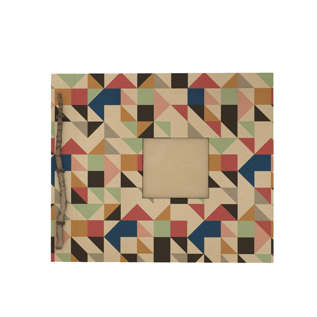 Abstract Triangle Twig Scrapbook
