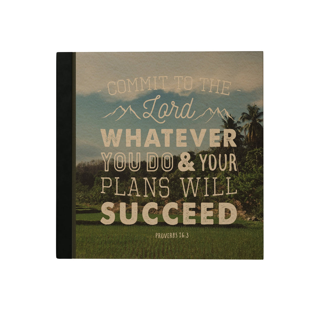 Commit to the Lord Hardbound Journal