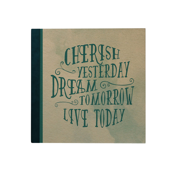 Cherish Yesterday Hardbound Journal