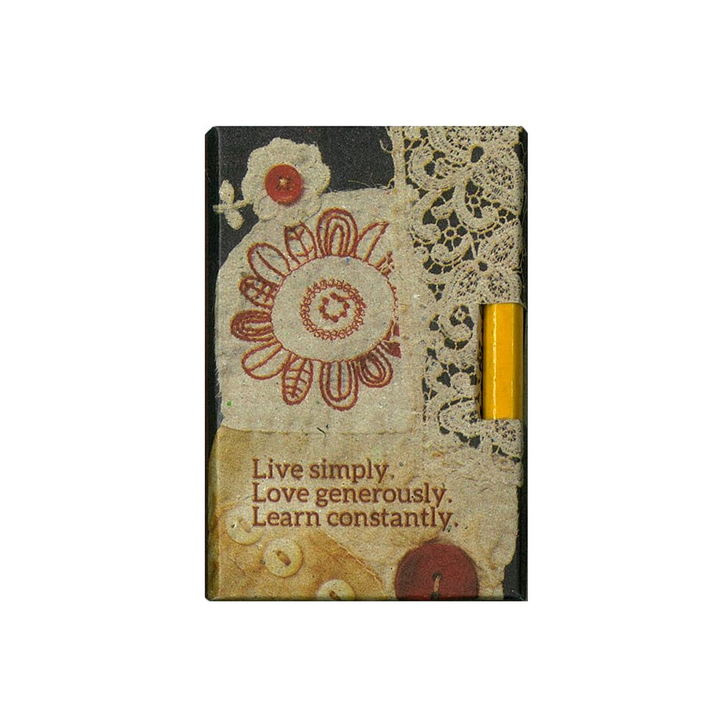 Live Simply Pencil Pad