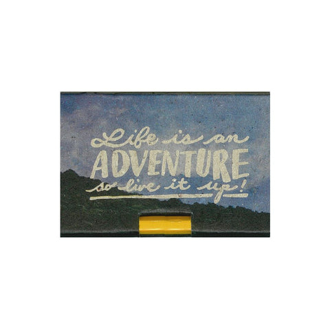 Life Is an Adventure Pencil Pad