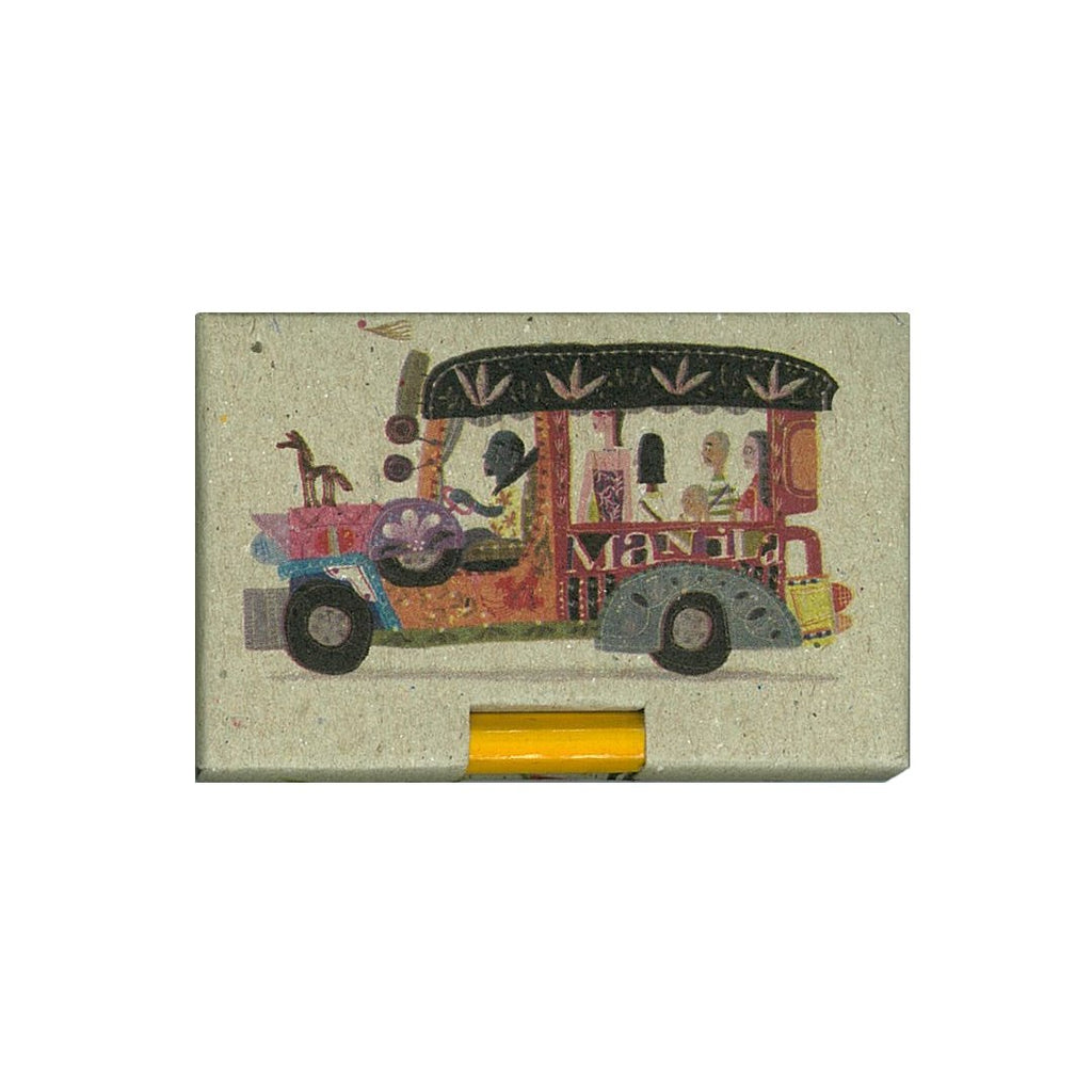 Manila Jeepney Pencil Pad