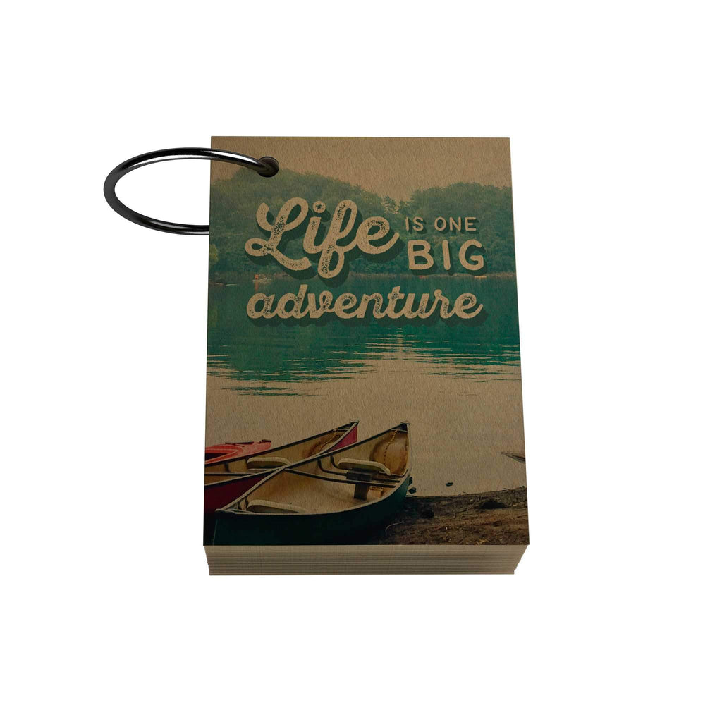 Life Is One Big Adventure Ring Notelet