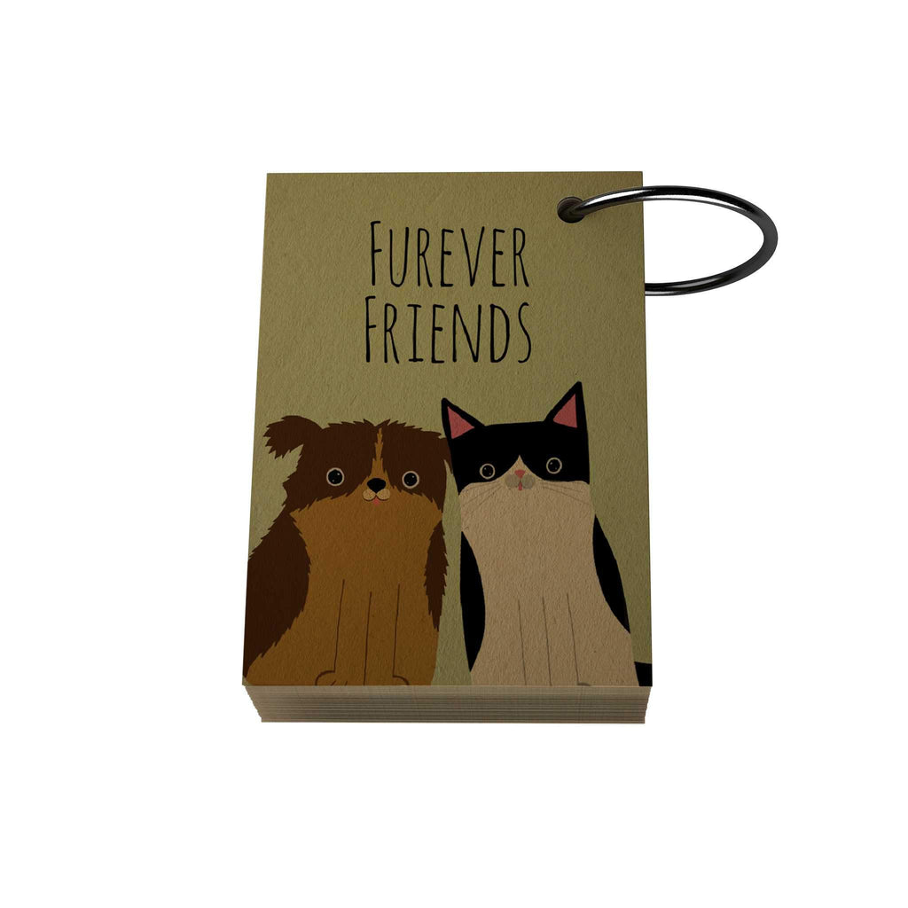 Pawsome: Furever Friends Ring Notelet