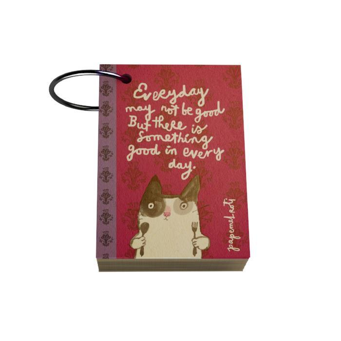 There Is Something Good Ring Notelet