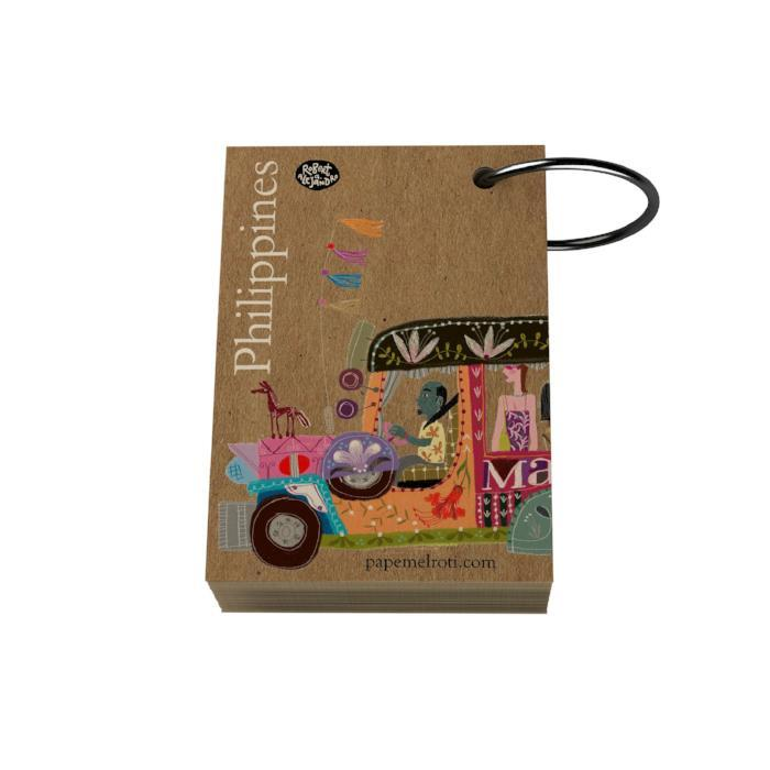 Philippine Jeepney Ring Notelet