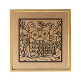 Owl Paper Clay Kit