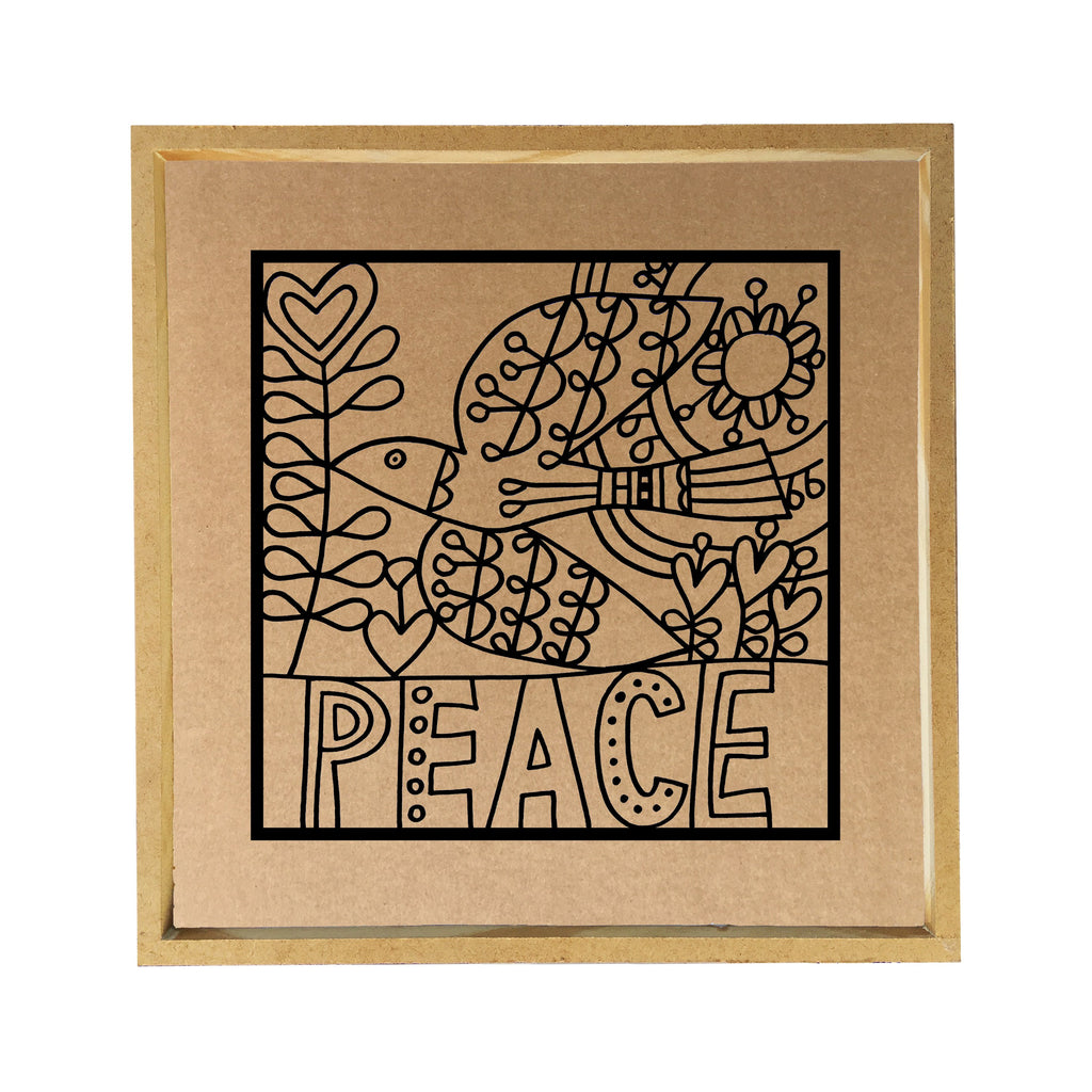 Peace Paper Clay Kit