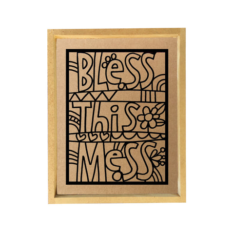 Bless This Mess Paper Clay Kit