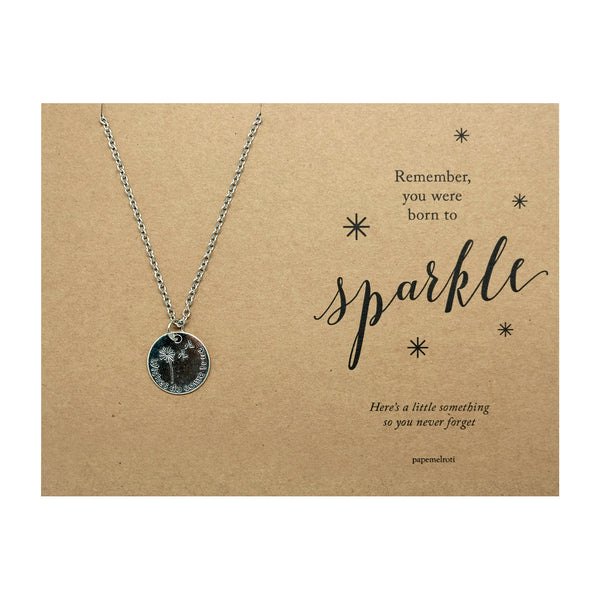 Wishes Necklace Jewelry Gift Card