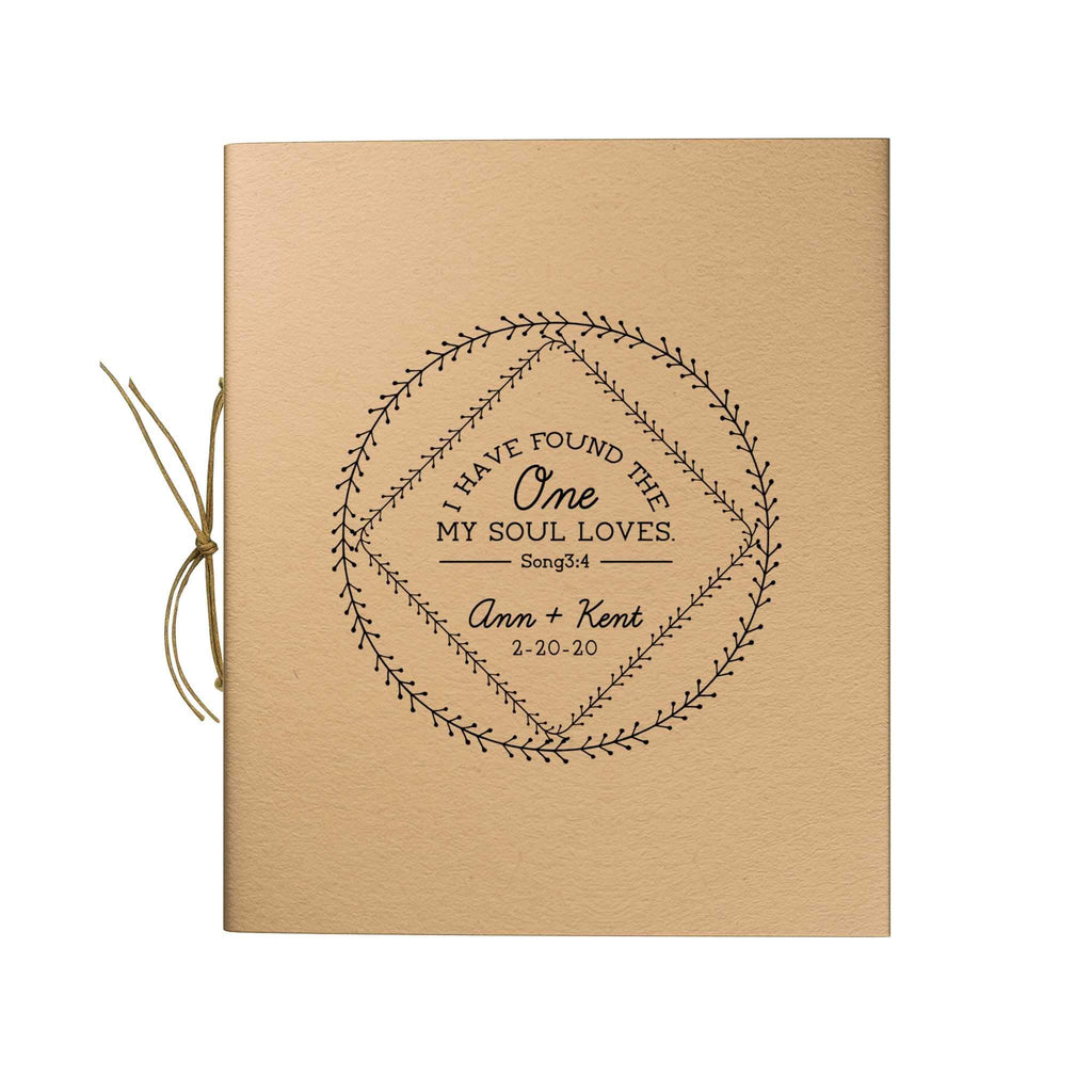 Vines Border Trim Kraft Notebook