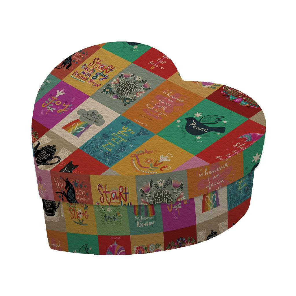 Affirmation Heart Gift Box