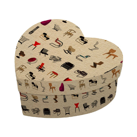 Chairs Heart Gift Box
