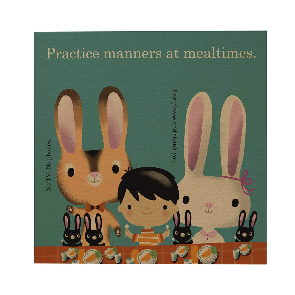 Practice Manners Postcard