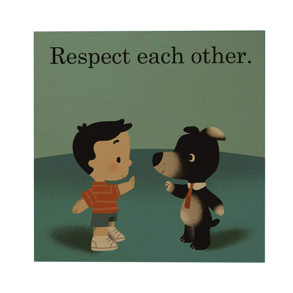 Respect Each Other Postcard