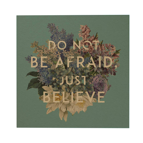God's Garden: Do Not Be Afraid Postcard