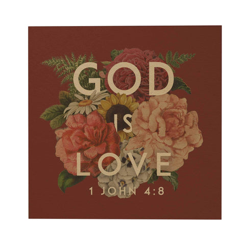 God's Garden: God Is Love Postcard